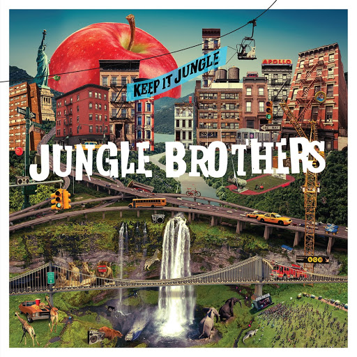 Album Notes - Jungle Brothers - Keep it Jungle