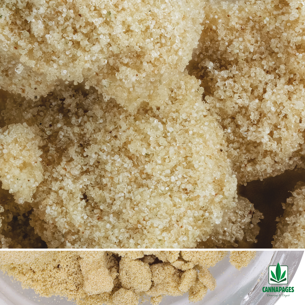 Tangilope Solventless Bubblehash from CEC
