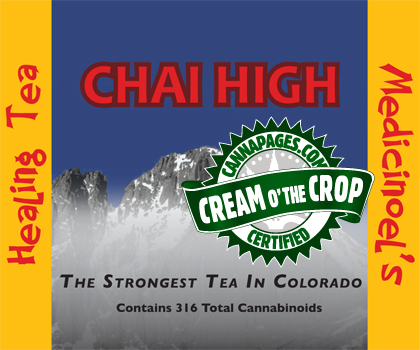 Chai High Iced Tea from Keen Greens (Solace Meds)