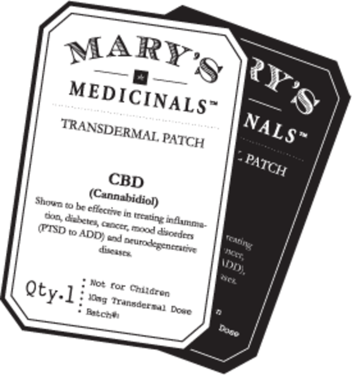 Mary's Medicinals THCa Patch