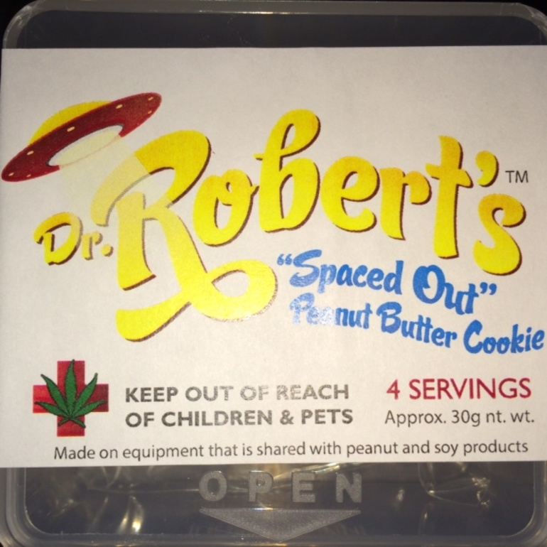Dr.Roberts Peanut Butter Cookie