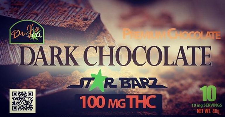 Dr. J's Star Barz Dark Chocolate