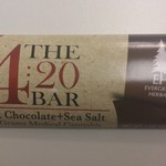 Evergreen Herbal - 4:20 Bar (65mg THC) - Dark Chocolate w/ Sea Salt