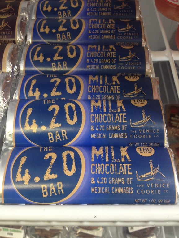 420 Milk Chocolate Bar