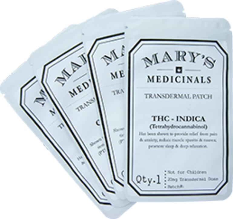 Marys Medicinals THC Patches