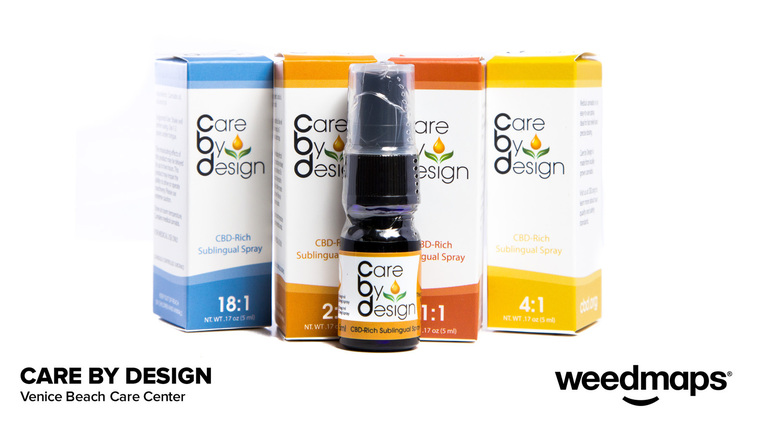 CARE BY DESIGN THC TINCTURE