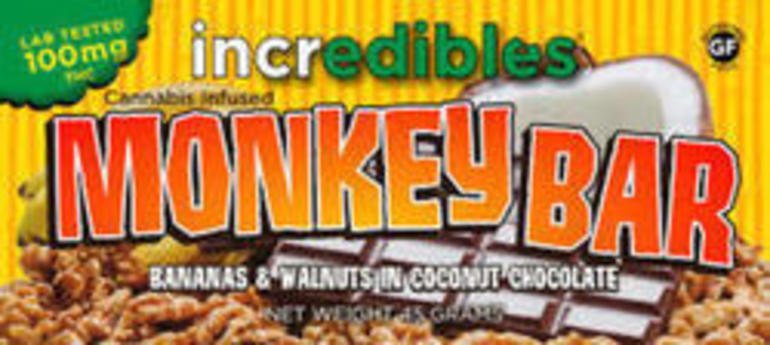 Incredibles Monkey Bar 100mg