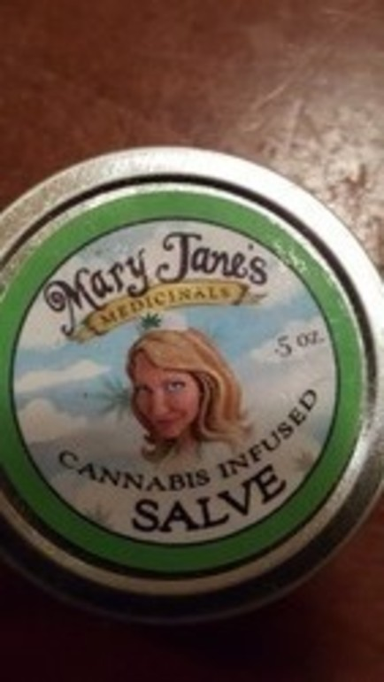 Mary Jane's Salve .5oz Sample