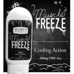 Mary's Medicinals Muscle Freeze – Net Weight 3.25 oz.
