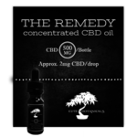 Mary's Remedy 500mg CBD Tincture (tax not included)