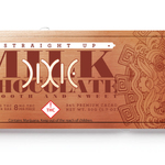 Dixie Straight Up Milk Chocolate Bar Sativa 100mg