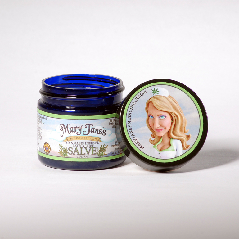 Mary Jane's Medicinals Pain Relief Salve 4oz