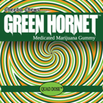 Cheeba Chews: Green Hornet Gummy