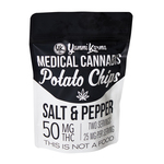 Medical Cannabis Potato Chips, Salt & Pepper 50mg