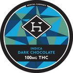 HASHMAN CHOCOLATE INDICA & SATIVA 100MG