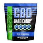 Cannabinoid Creations Blue Raspberry CBD Hard Candy