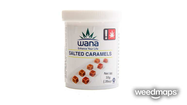 Wana Salted Caramels