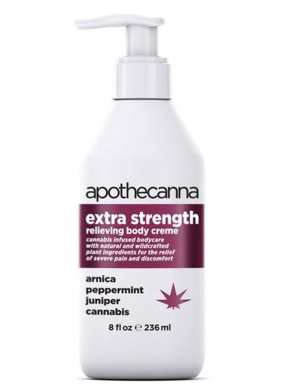 Apothecanna Extra Strength Pain Creme 8oz