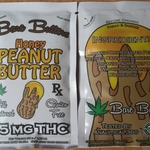 Bare Butters- Honey Peanut Butter (Squeeze Pack) 75mg THC