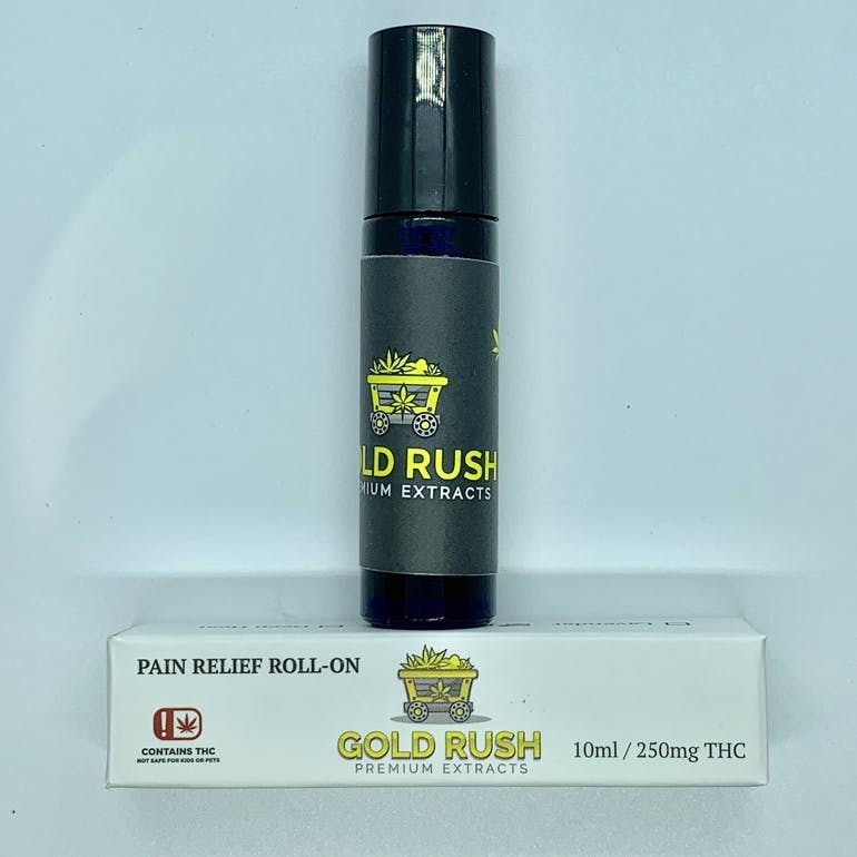 Gold Rush 10ml Pain Relief Roll-on