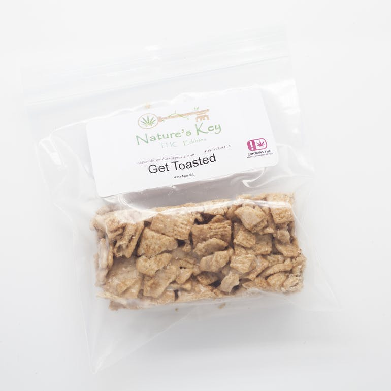 Nature's Key Toasted Cereal Bar 100mg