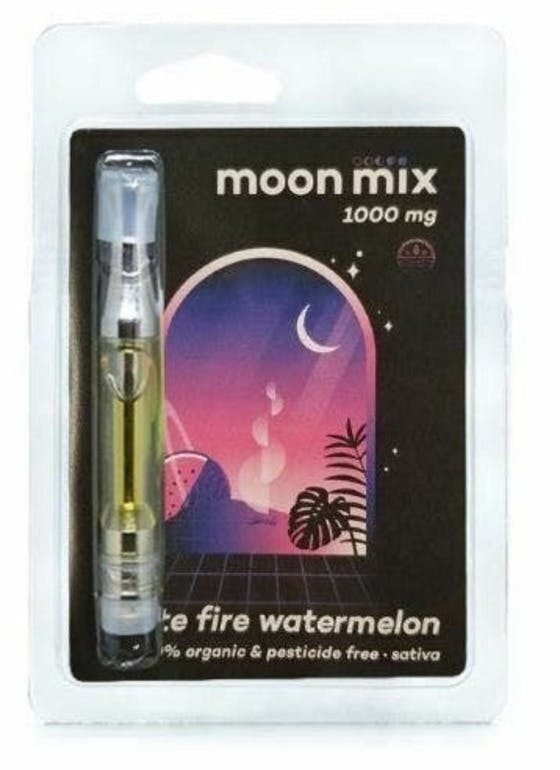 Moon Mix White Fire Watermelon 1000MG